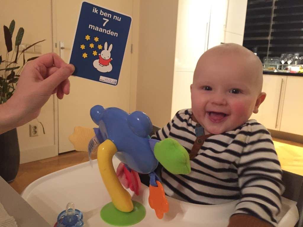 Pieter 7 maanden