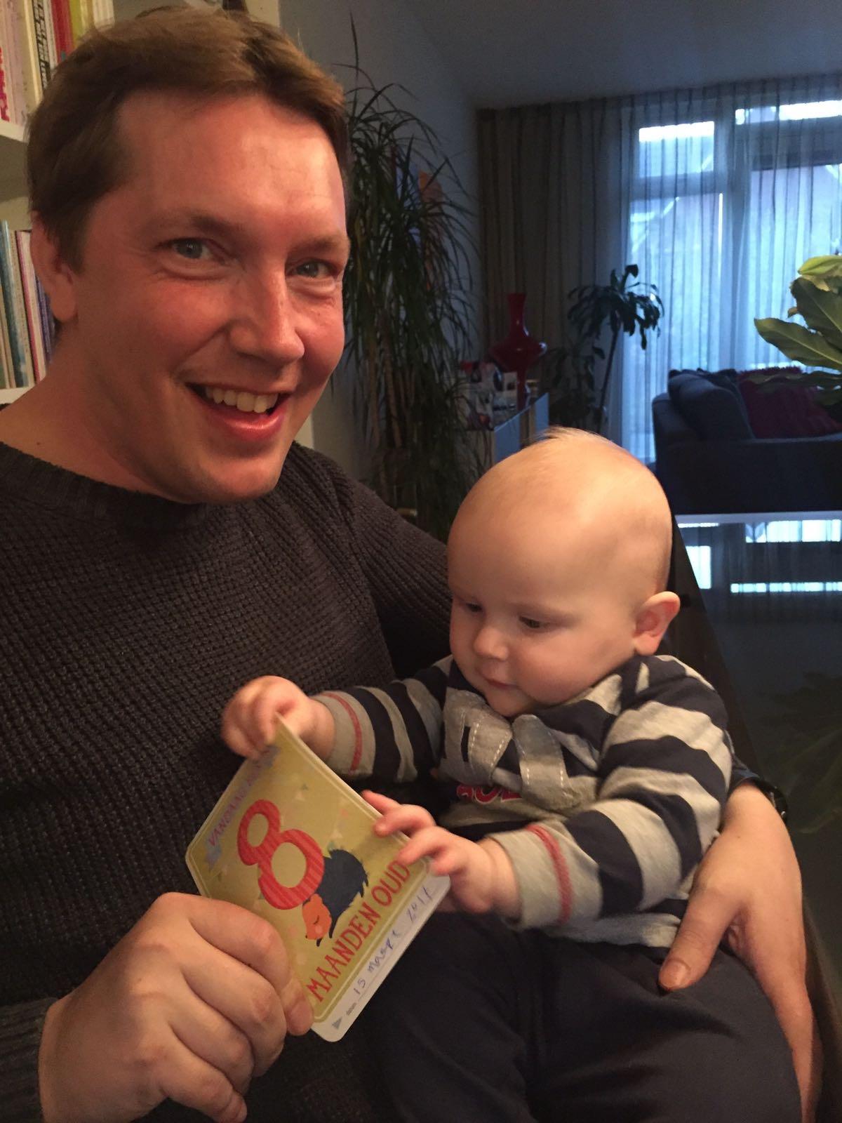 Pieter 8 maanden