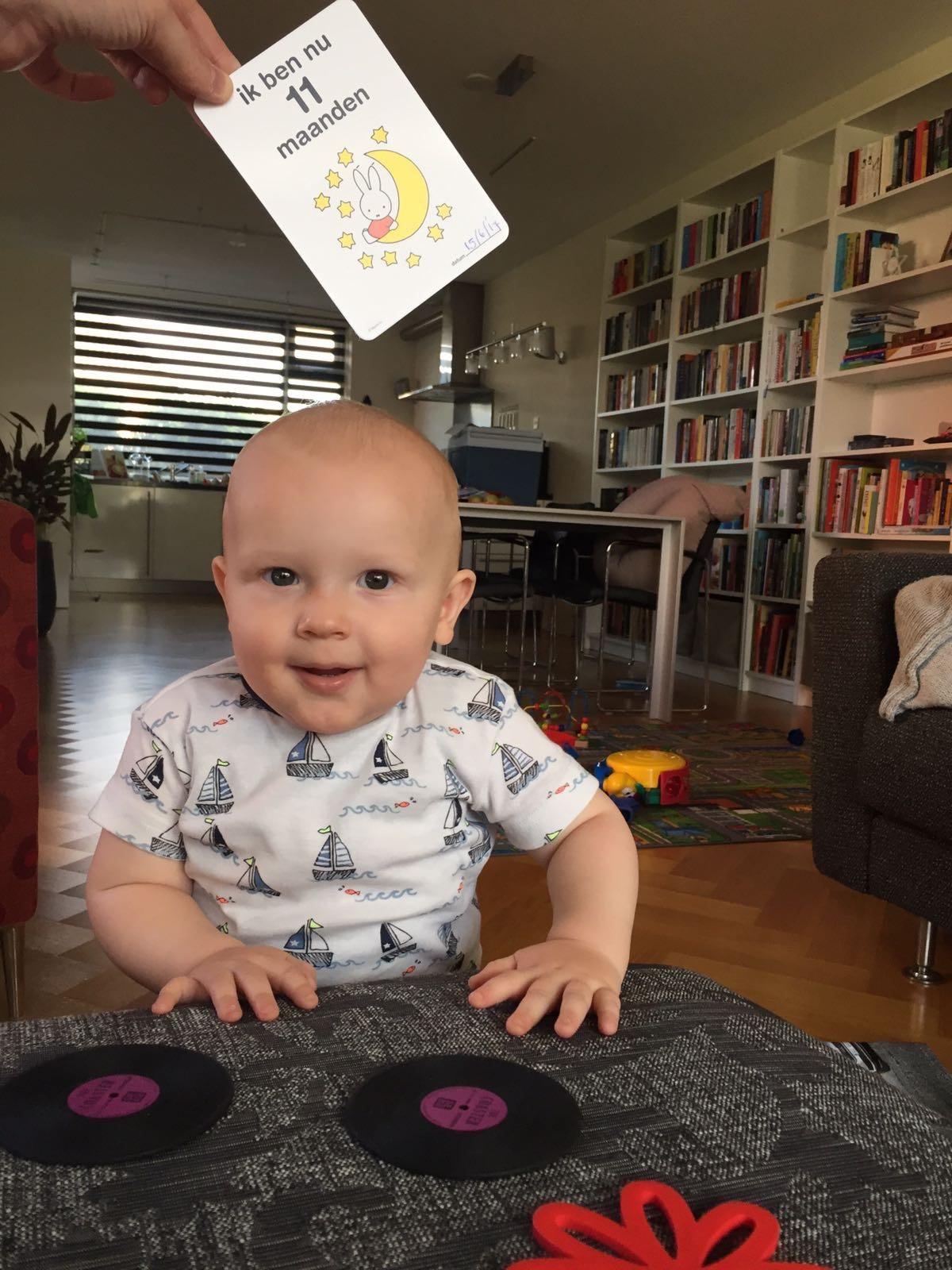 Pieter 11 maanden