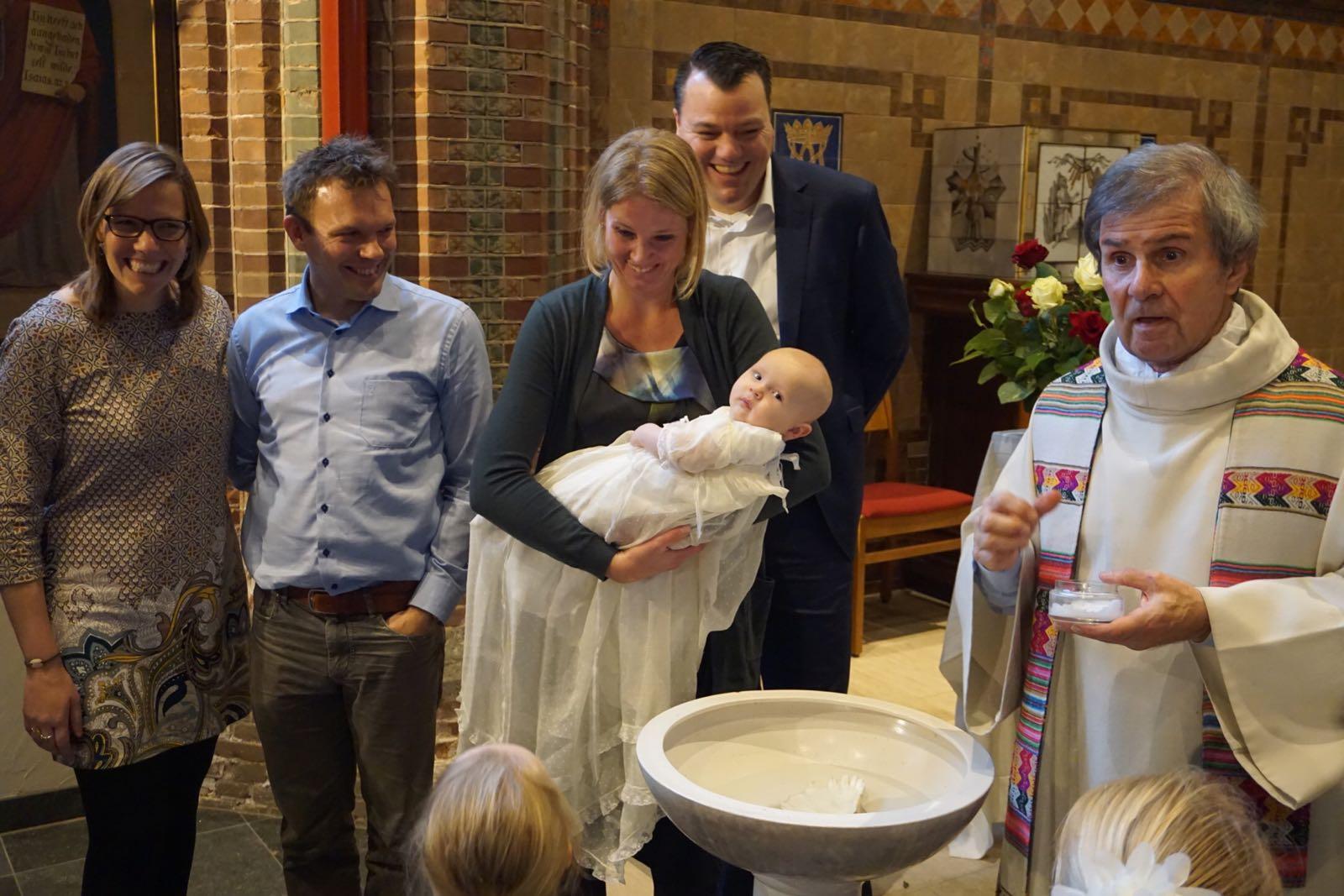Pieter gedoopt