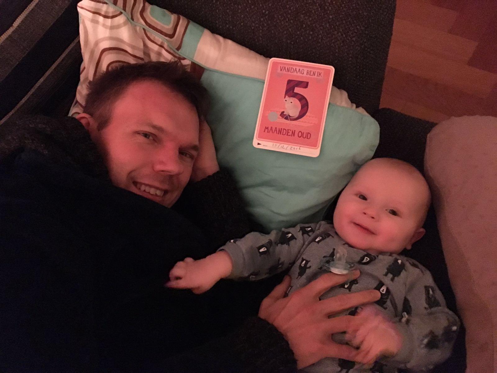 Pieter 5 maanden