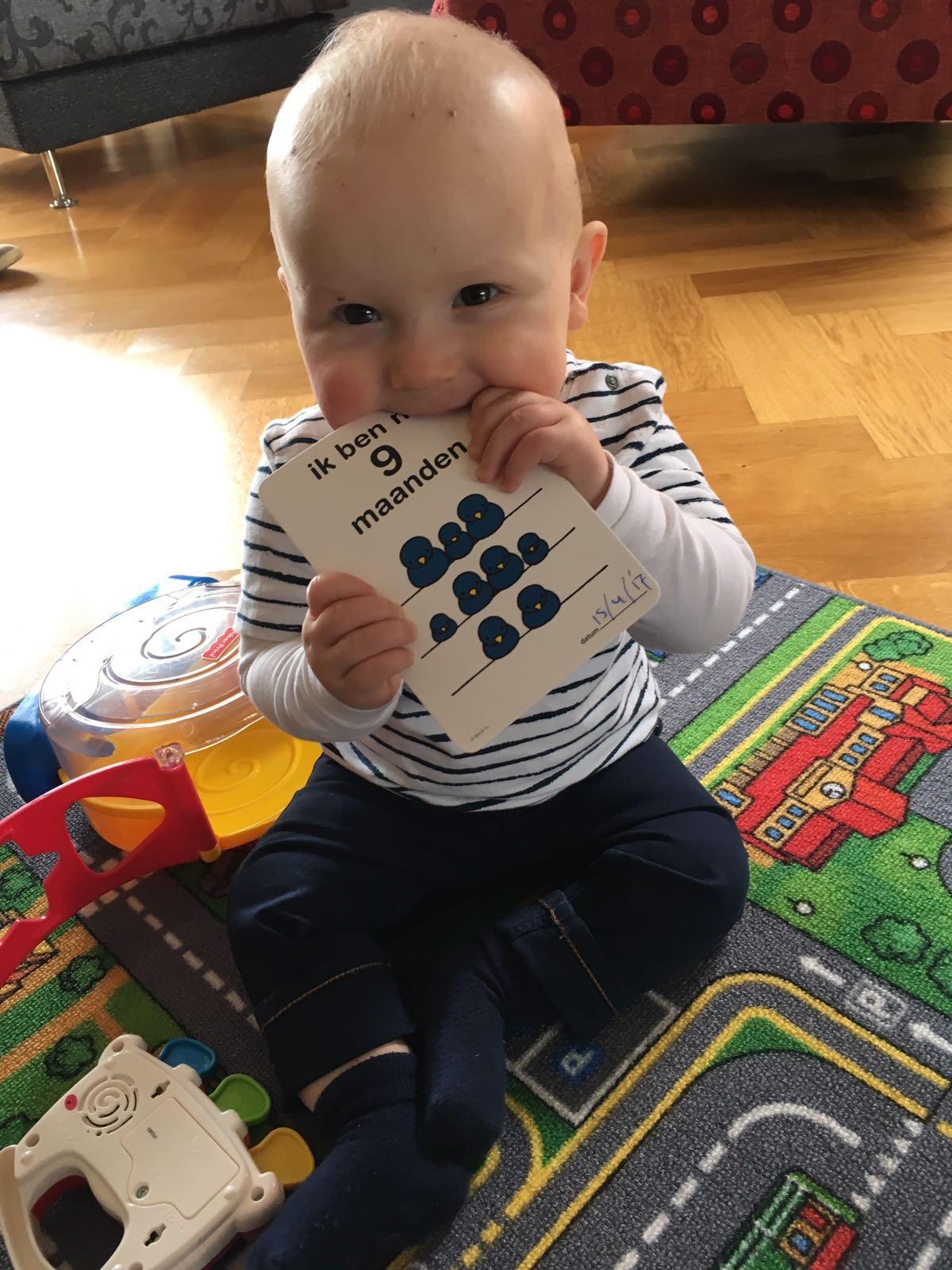 Pieter 9 maanden