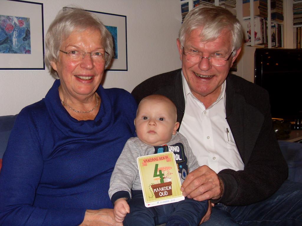 Pieter 4 maanden